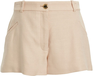 Brandon Maxwell Tailored Suiting Shorts