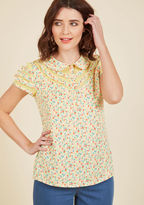 ModCloth Cater to Your Quirk Top in 1X