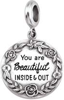 Persona Sterling Silver You are Beautiful Charm Bead H15315P1
