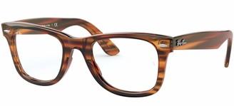Ray-Ban RX4340V Wayfarer Eyeglass Frames Non Polarized Square Prescription Eyewear