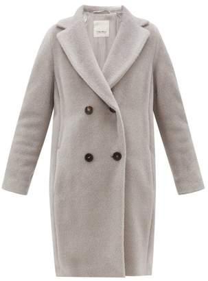 Max Mara S Rose Coat - Womens - Light Grey