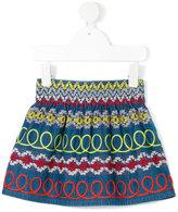 Stella McCartney embroidered skirt - kids - Cotton - 24 mth