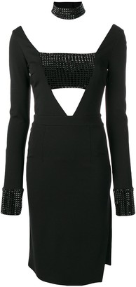 Philipp Plein Stargazing short dress