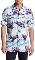 Topman Short Sleeve Hawaiian Shirt