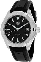 Tag Heuer WAY1110.FT8021 Men's Aquaracer Black Silicone Watch