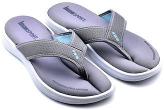 Iron Man Ironman Men's Lightweight Memory Foam Sandals -Ola Slide