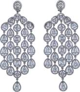 Arunashi Diamond Chandelier Earrings
