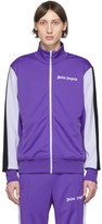 Palm Angels Purple Side Band Track Jacket