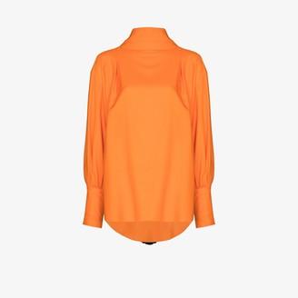 NACKIYÉ Opium tassel tie blouse