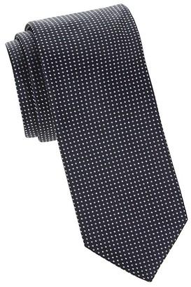 HUGO BOSS Printed Dot Silk Tie