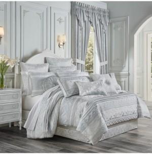 J Queen New York Riverside 4 Piece Comforter Set, Queen Bedding