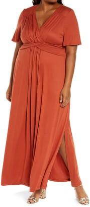 Kiyonna Desert Rain Maxi Dress