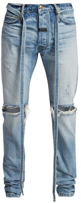 Fear Of God Standard Tie-Waist Distressed Jeans