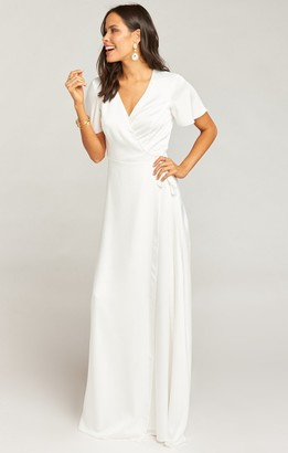 Show Me Your Mumu Noelle Flutter Wrap Dress
