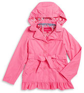 London Fog Girls 7-16 Girls Belted Trenchcoat
