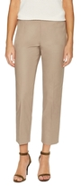 Lafayette 148 New York Stretch Cotton Cropped Pant