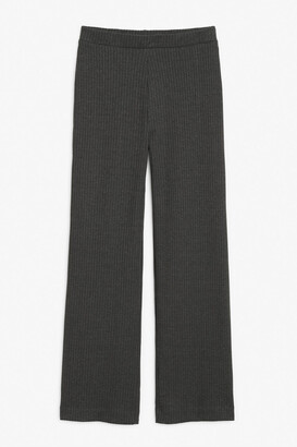 Monki Ribbed trousers