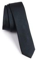 The Kooples Men's Dot Silk Jacquard Skinny Tie