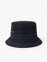 Thom Browne Navy Mackintosh Bucket Hat