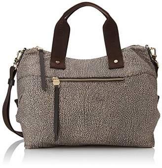 Borbonese Handbag, Women's Top-Handle Bag,33x16x15 cm (W x H L)