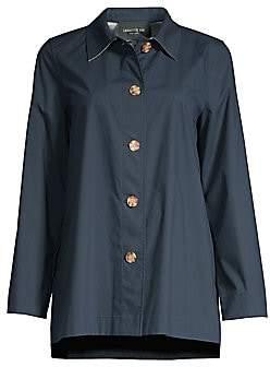 Lafayette 148 New York Women's Nidia Travelers Shirt Jacket
