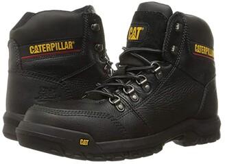 Caterpillar Outline ST (Black) Men's Work Lace-up Boots