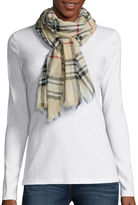 Fraas Plaid Loop Neck Scarf