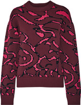 Opening Ceremony Cabbage intarsia-knit sweater