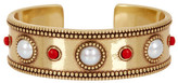Lucky Brand Coral & 7mm Freshwater Pearl Cuff