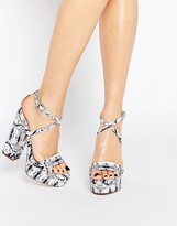 Asos Highway Platform Sandals