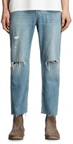 AllSaints Danvers Sid Straight Fit Jeans in Indigo Blue