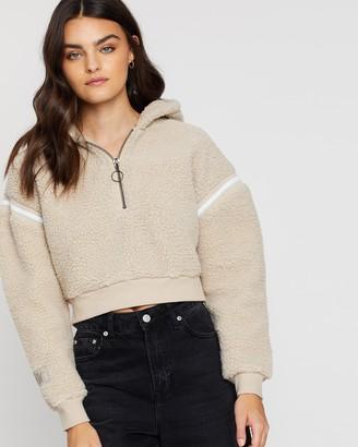 nANA jUDY Blair Sherpa Sweater Jacket