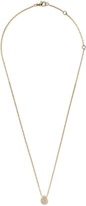 Boucheron 18kt yellow gold Serpent Boheme diamond XS motif pendant necklace