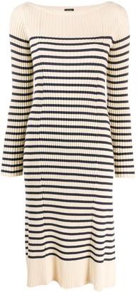 Jean Paul Gaultier Pre Owned Matelot striped dress