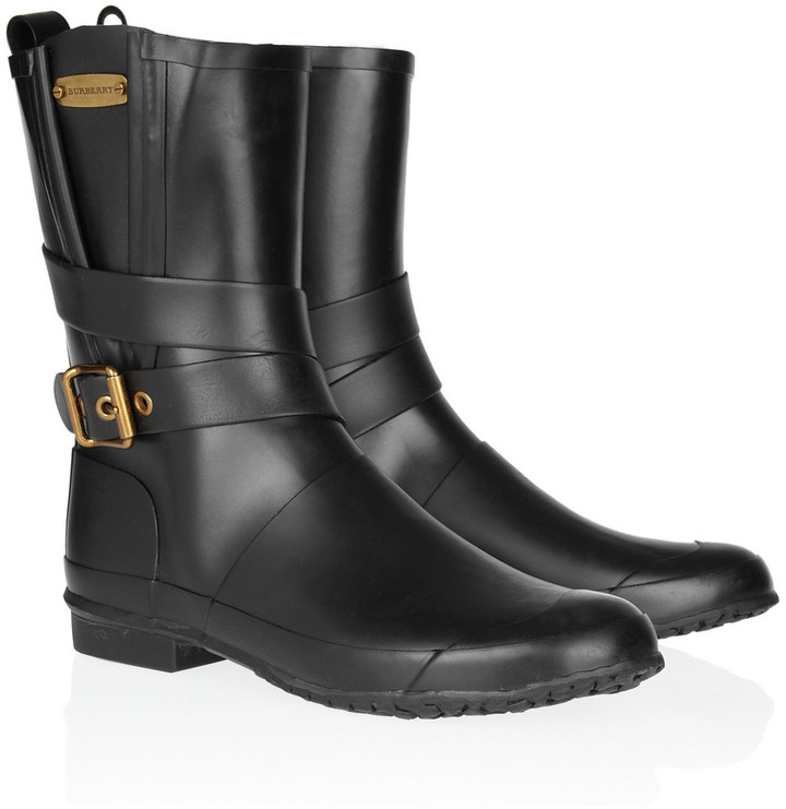 Burberry Shoes & Accessories Rubber mid-calf boots