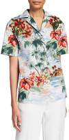 Valentino Embroidered Shirt