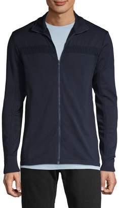 J. Lindeberg Textured Full-Zip Jacket