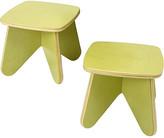 Surfin Kids Stool Set (2 per box) - Leaf
