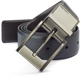 Calvin Klein Reversible Gunmetal Buckle Leather Belt