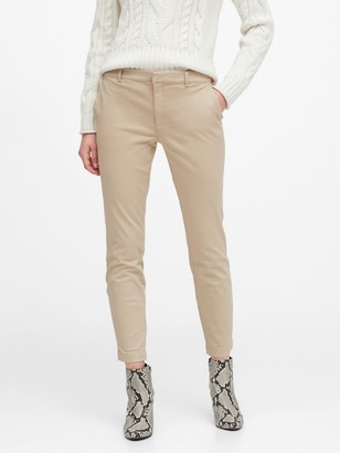 Banana Republic Petite Sloan Skinny-Fit Chino Pant