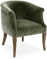 Brownstone Upholstery Tilly Occasional Chair, Sage Velvet