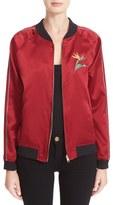 Opening Ceremony Women's L.a. Souvenir Reversible Bomber Jacket