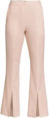 LVIR Pleasant Utility Slim Bell Bottom Slit Pants