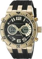 Sean John Men's 10027464 Sport Analog-Digital Display Analog Quartz Black Watch