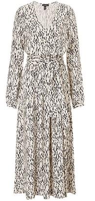 Baukjen Lexie Dress Midi In Stone Dash Print