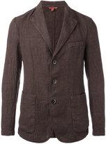 Barena front pocket blazer - men - Cotton/Linen/Flax/Polyester - 50