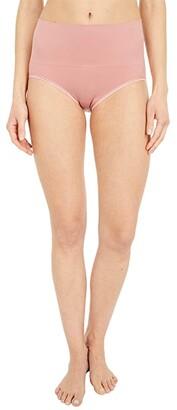Yummie Ultralight Seamless Shaping Brief (Ash Rose) Women's Underwear