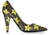 Moschino Women's Multicolor Leather Pumps.