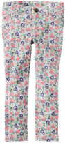 Carter's Floral French Terry Jeggings