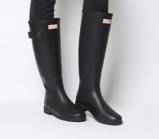 Hunter Refined Wellies Black